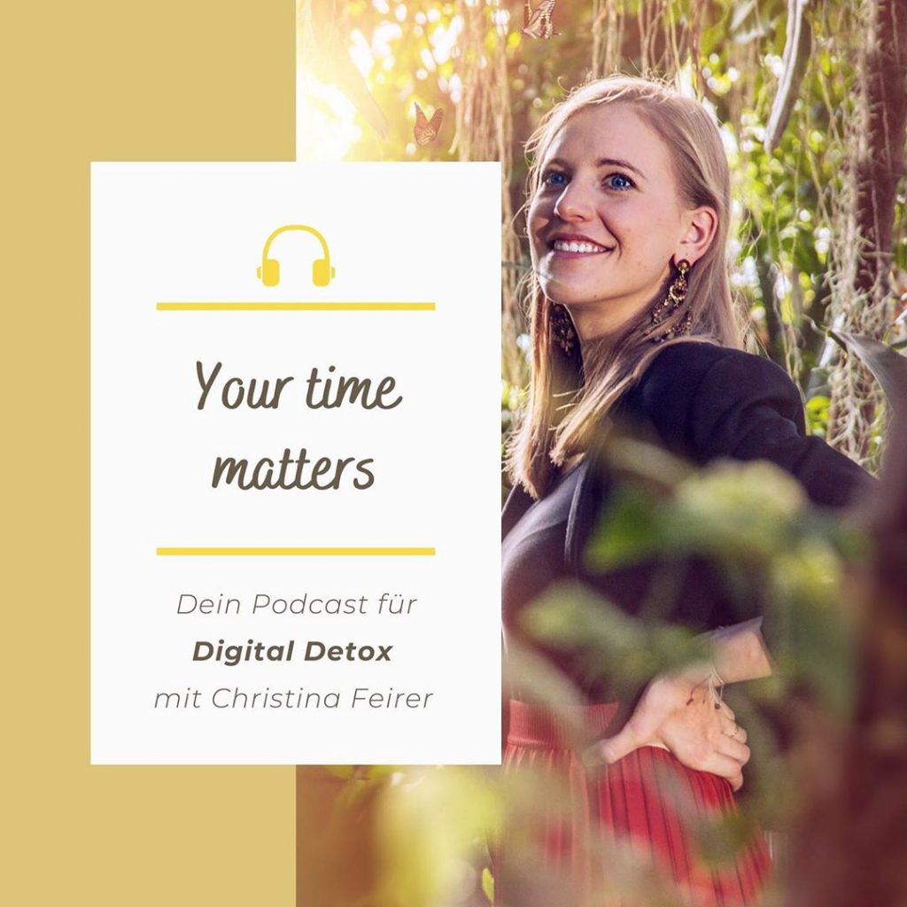 Interview mit Jürgen Zahrl im Your time matters Digital Detox Podcast